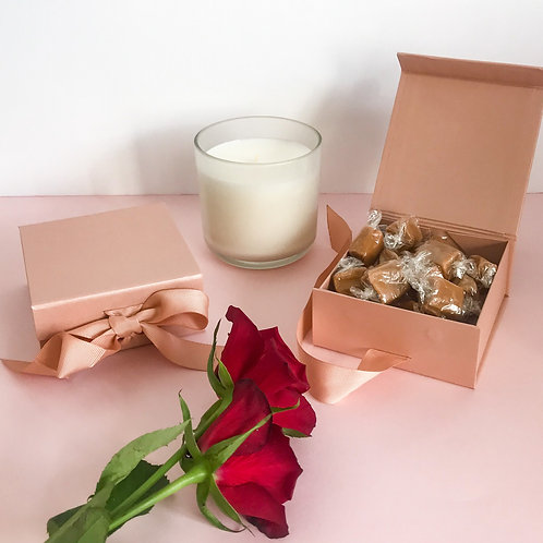 Mother's Day Rose Gold Gift Box