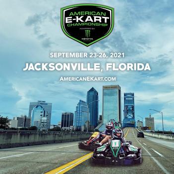 American E-Kart Championship 2021 set for Jacksonville, FL