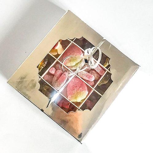 Silver Square Gift Box