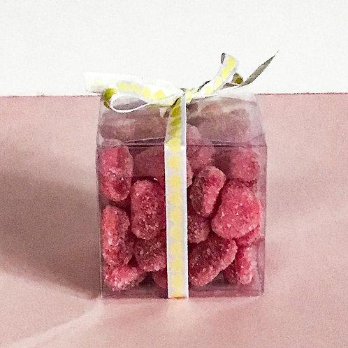 Mini Fizzy Strawberry Heart Favour Box