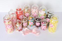 HALAL SWEETS THE SWEET PATH ARRAY OF JARS (2)