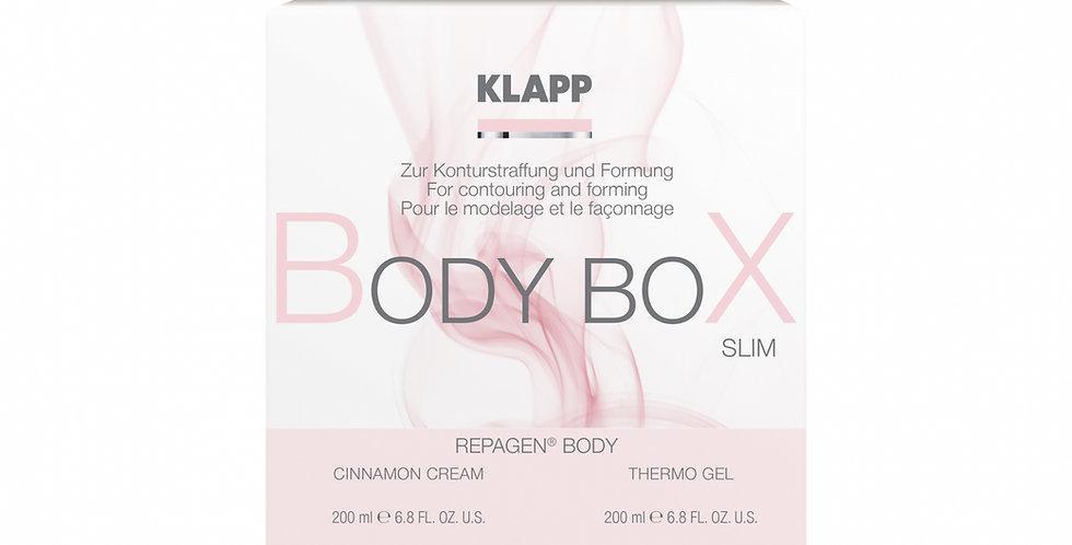 Repagen Body Box Cinnamon Cream + Thermo Gel - KLAPP