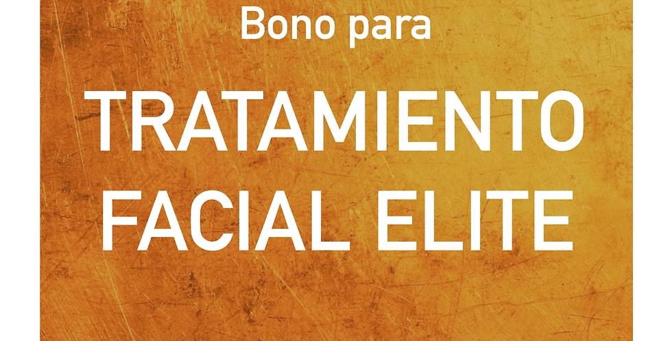 Bono para TRATAMIENTO FACIAL ELITE
