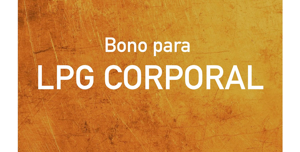 Bono para LPG CORPORAL