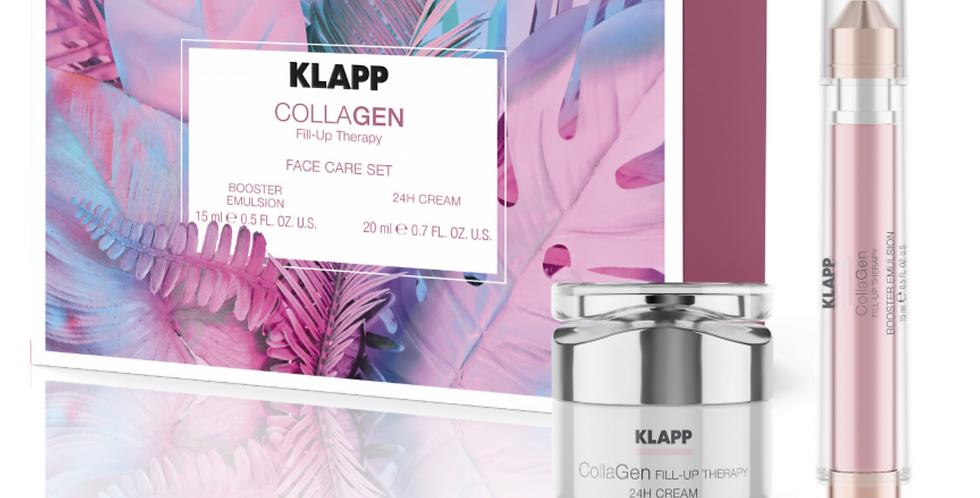 Set Collagen Face Care (Booster Emulsion + 24h Cream) - KLAPP
