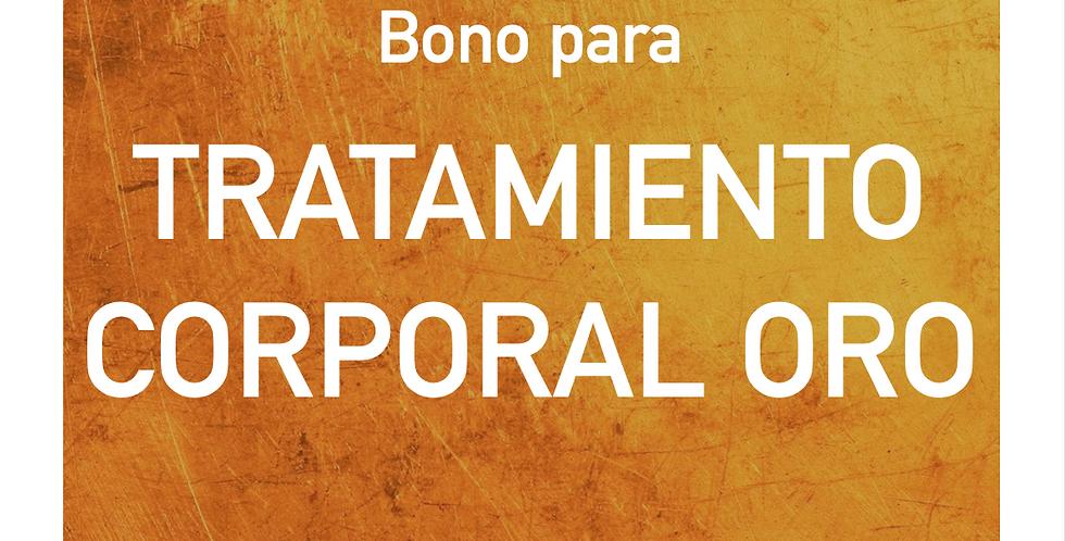 Bono para TRATAMIENTO COPORAL ORO