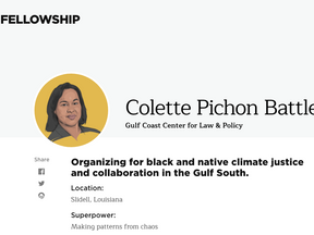 Colette Pichon Battle- the Obama Fellow!