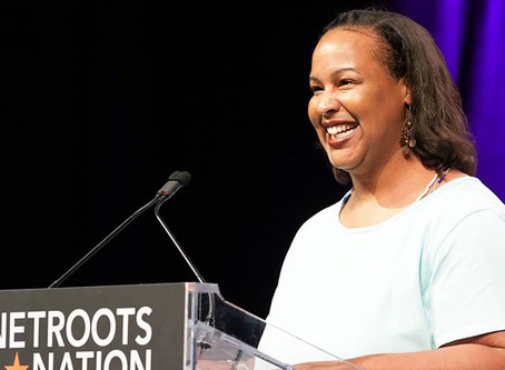 Colette at Netroots Nation 2018