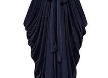 Pre-loved Shieke Grecian Dress Navy Size 12