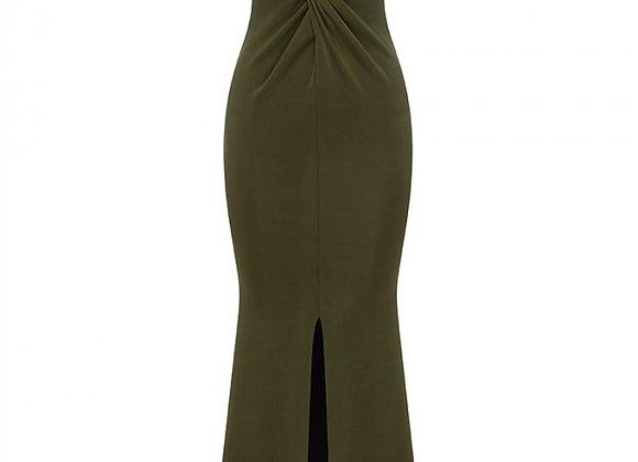 Pre-Loved Sheike Gala Gown Khaki Size 16