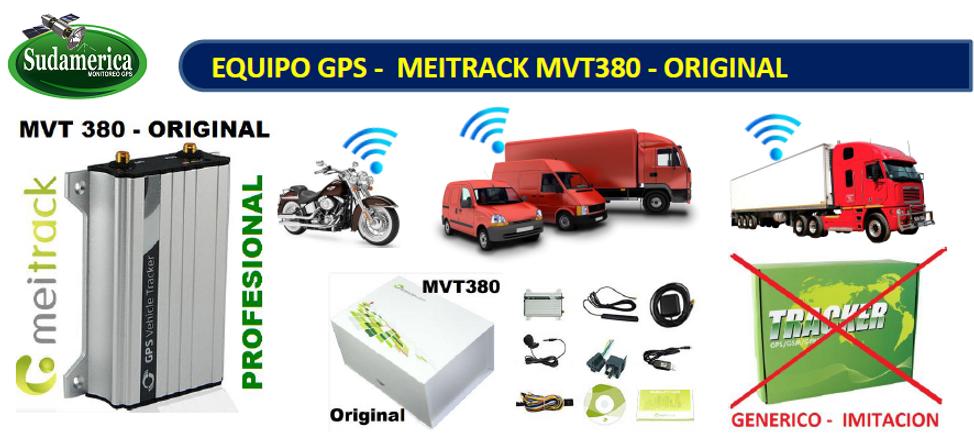 Gps Vehicular Meitrack Mvt-380 Original Mvt380 - Gps Sin