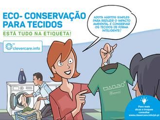 ESTÁ TUDO NA ETIQUETA - Instruções de conservação