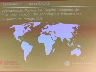 PRESIDENTE DA ANIVEC PRESENTE NA APRESENTAÇÃO PÚBLICA DE PROJECTOS CONJUNTOS DE INTERNACIONALIZAÇÃO