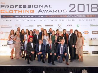 PROFESSIONAL CLOTHING AWARDS 2018