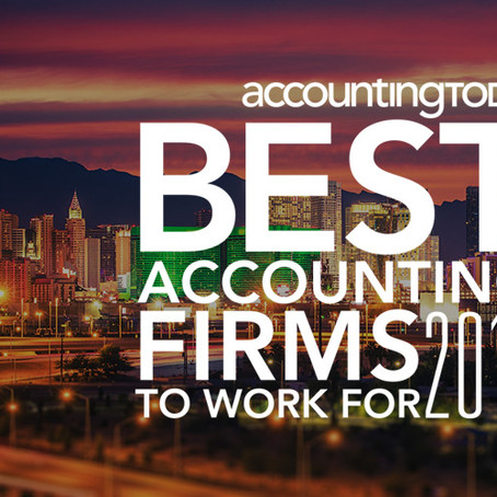 Fair, Anderson and Langerman named 2018 Accounting Today's Best Accounting Firms to Work for