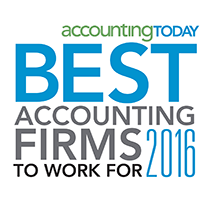 Fair, Anderson and Langerman named 2016 Accounting Today's Best Accounting Firms to Work For