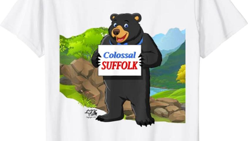 Colossal Suffolk t-shirt