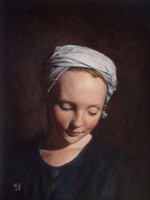 Girl in a Turban