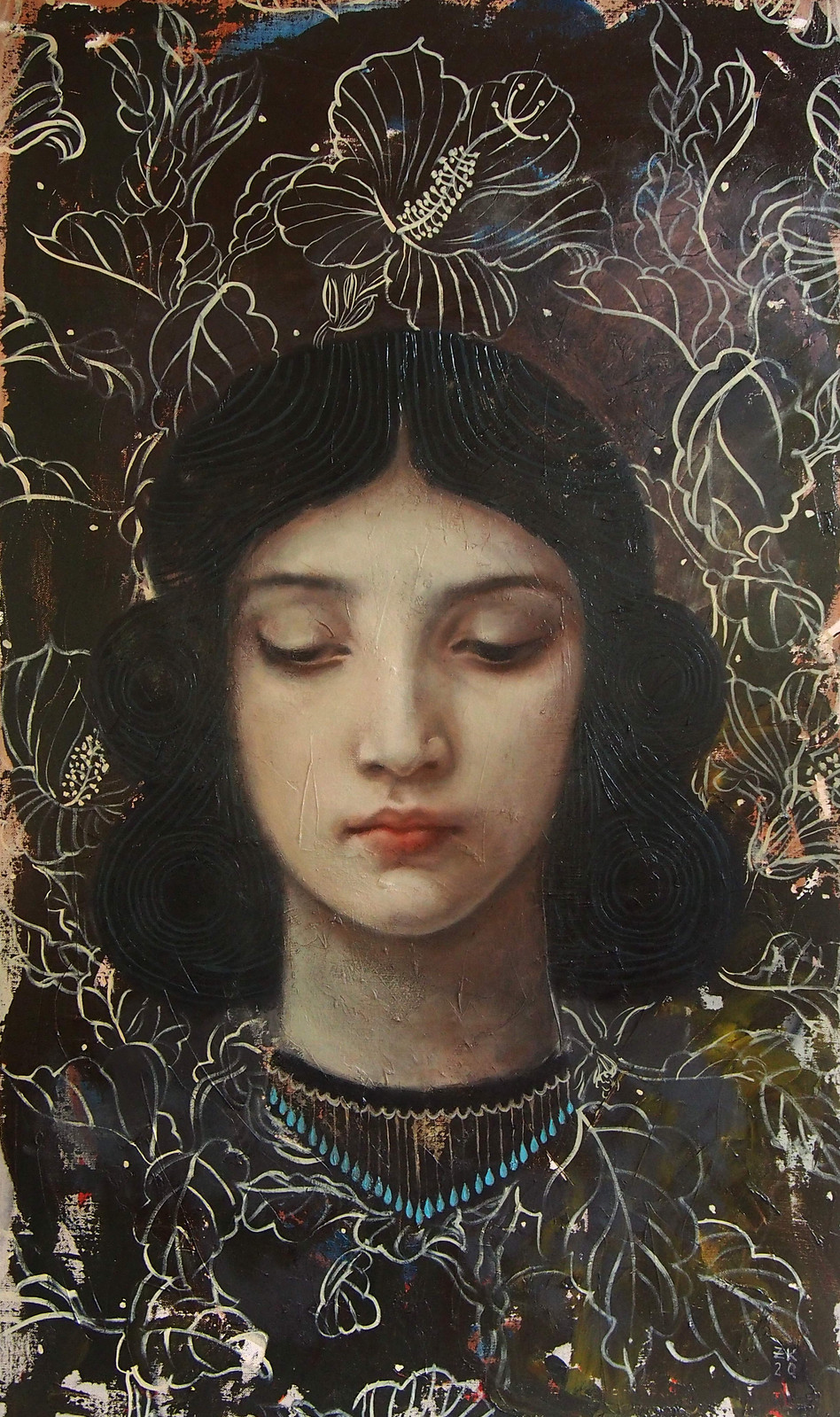 Woman Born of Flowers, Blodeuwedd