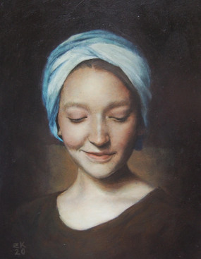 Girl in a Turban III