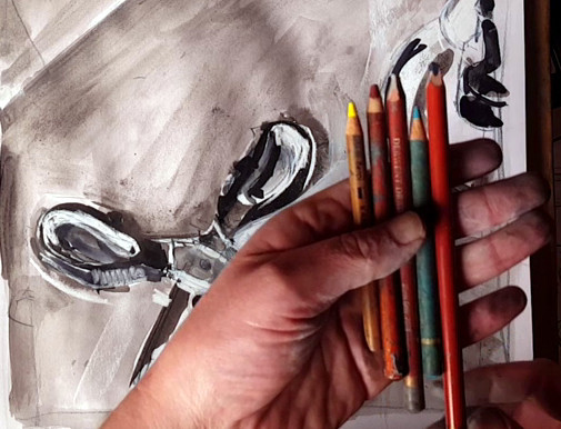 61 scissors coloured pencil choice.jpg