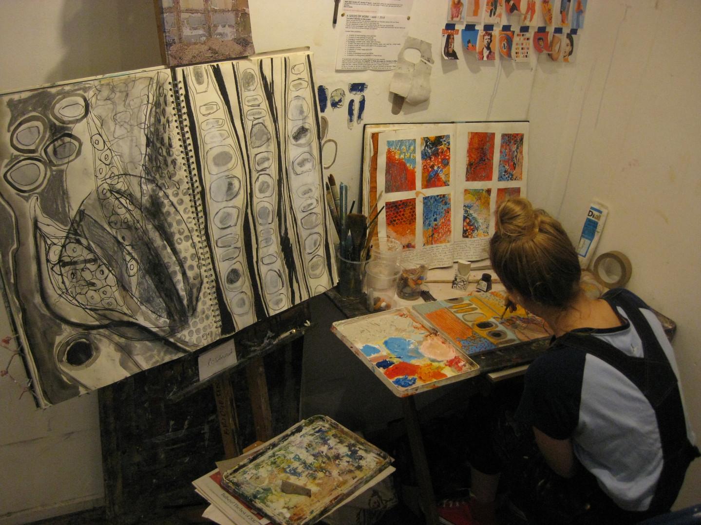 Student studio space
