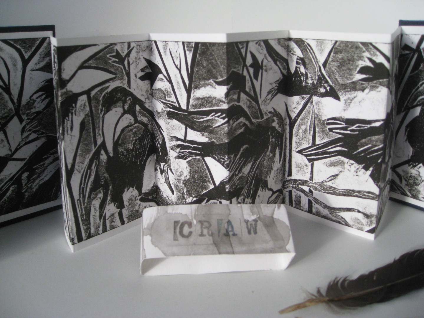 Student work - artists bookmaking