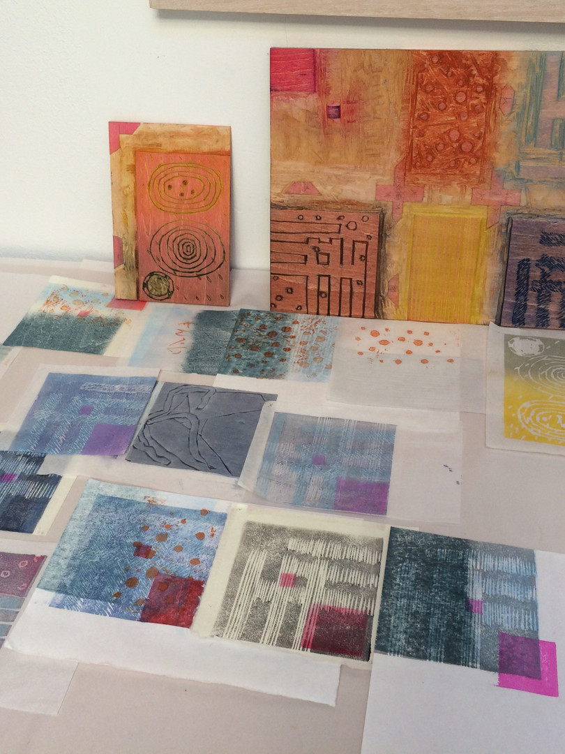 Mokuhanga printmaking