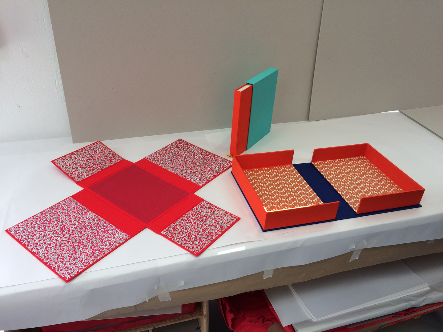 Student work - box making