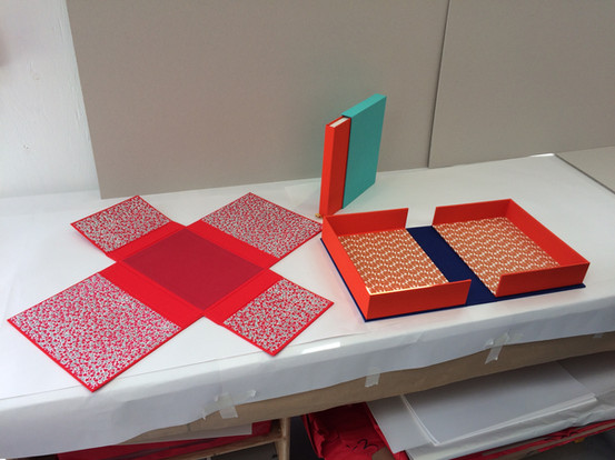 Student work - box making