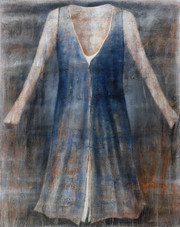 Garment 1. 140x110cm. Oil,acrylic,wax..j