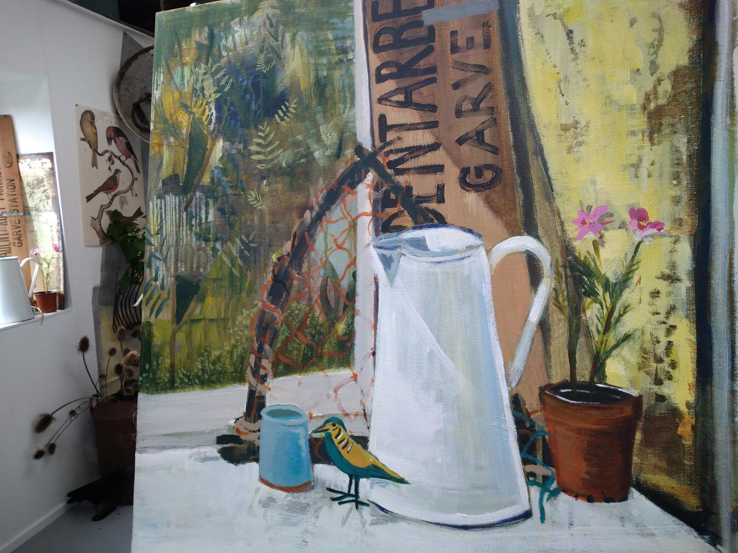 Student work - acrylic painting