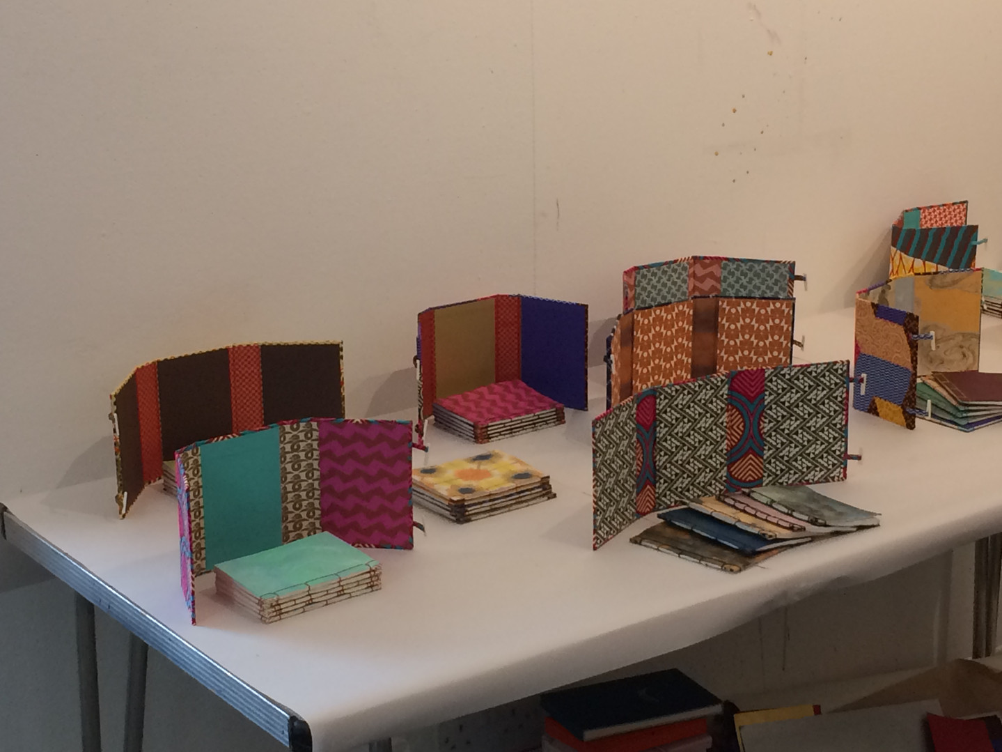 Student work - Japanese bookmaking