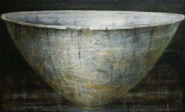 Copy of Bowl 22. 123x200cm oilacrylicwax