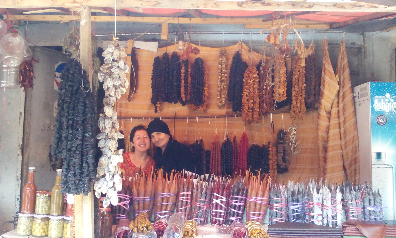 Тбилисский рынок...