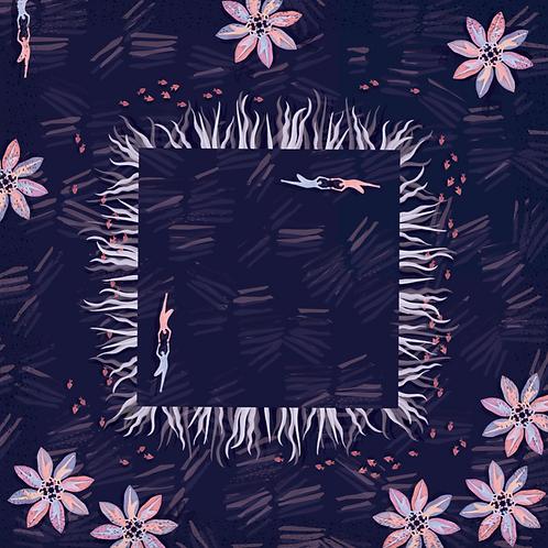 Daydreamer Pisces Silk Scarf