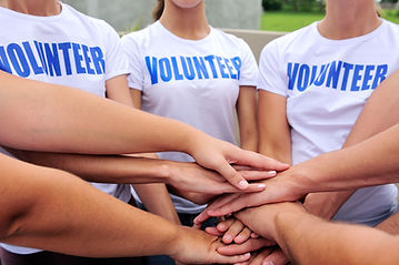 Volunteers, Charity