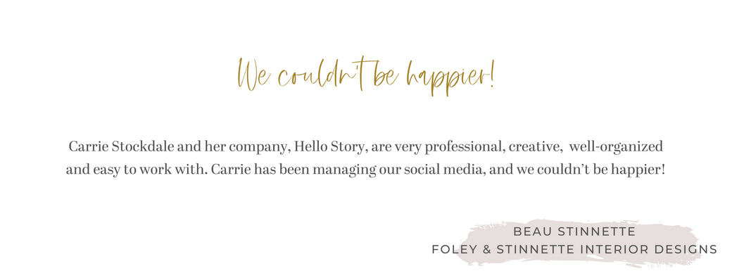 Hello Story client testimonial