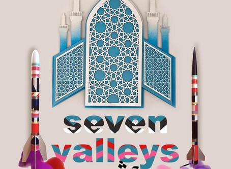 Seven Valleys Exhibition by Artists-In-Residence Lauren Marie Taylor and Keyvan Shovir