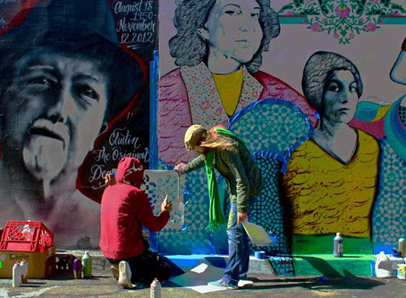 Keyvan Shovir Mural Work Featured in Girlboss Netflix Series