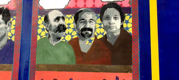 Keyvan Shovir Mural Work Featured in Sense8 Netflix Series