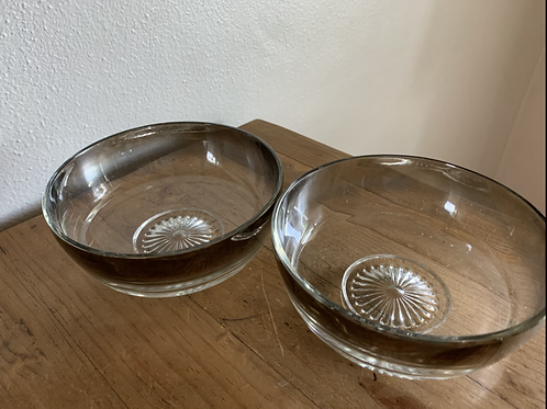 Mid Century Modern Lusterware bowls