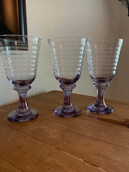 Vintage Libby Cirrus glass
