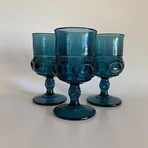 Vintage Indiana Glass goblet set