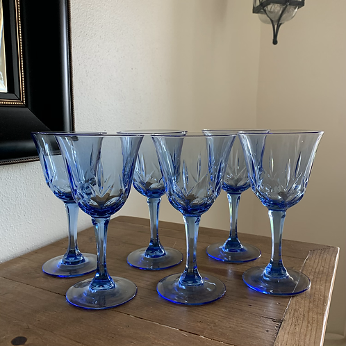 Vintage Fostoria Wine glass set