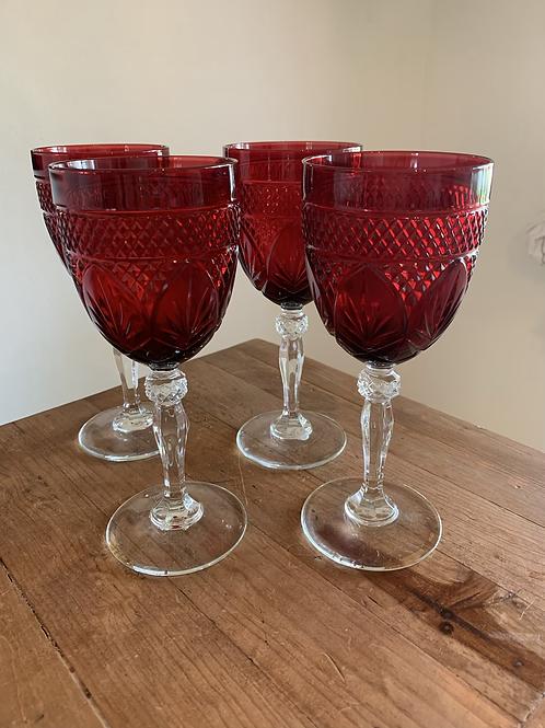 CRISTAL D'ARQUES-DURAND goblets