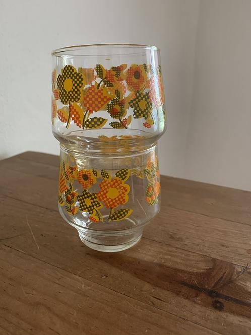 Retro/Boho cocktail glasses