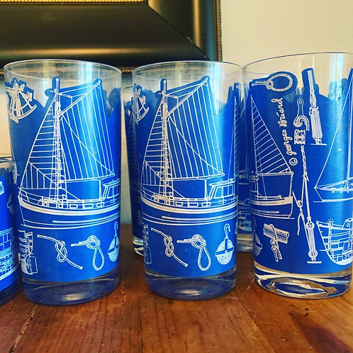 Georges Briard Nautical Set