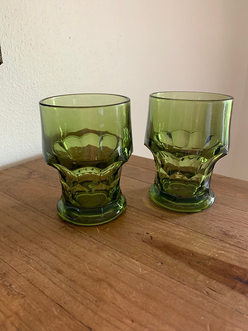 Vintage Libbey Georgian glass