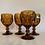 Thumbnail: Vintage Imperial glass goblet set